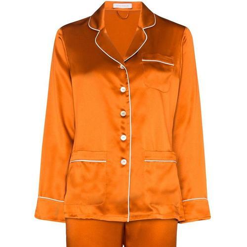 Olivia Von Halle 'Coco' Pyjama aus Seide