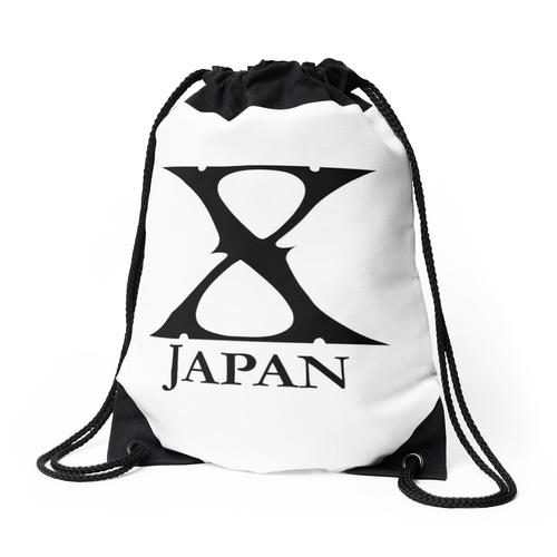 X Japan Logo (Schwarz) Rucksackbeutel