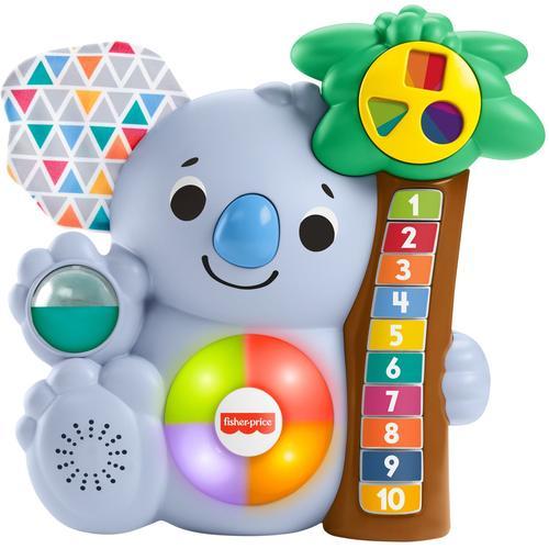 Fisher-Price Lernspielzeug BlinkiLinkis Koala blau Kinder Lernspiele