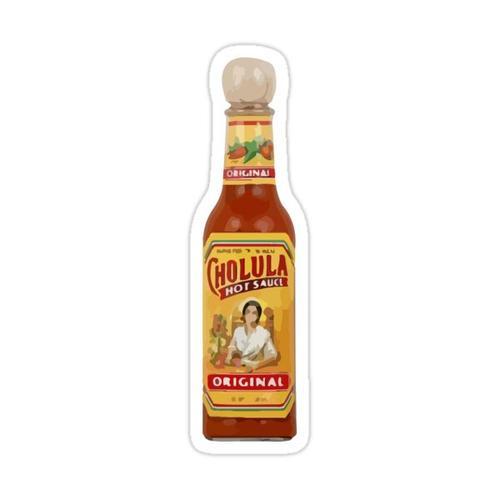 cholula hot sauce Sticker