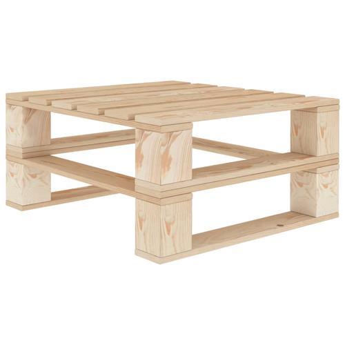 vidaXL Garten-Palettentisch Holz