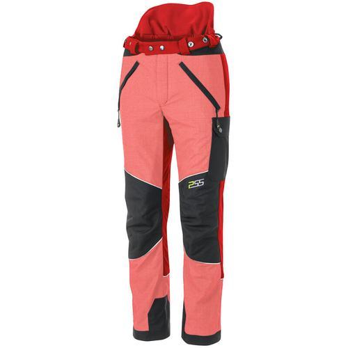 PSS X-treme Vectran Schnittschutzhose Rot/Schwarz, Größe 60