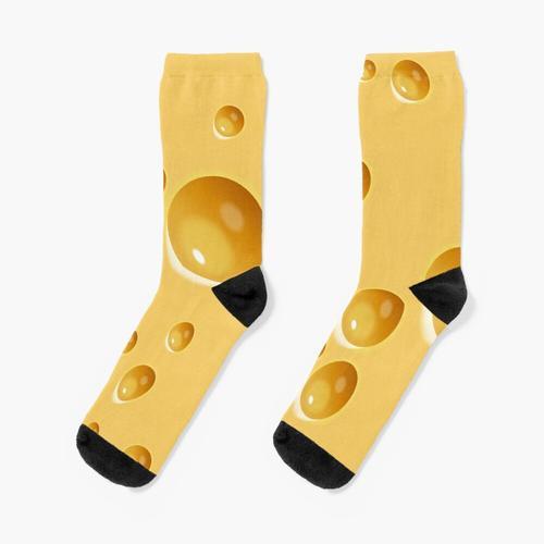 Schweizer Käse Socken