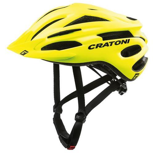 Cratoni Mountainbikehelm MTB-Fahrradhelm Pacer gelb Rad-Ausrüstung Radsport Sportarten