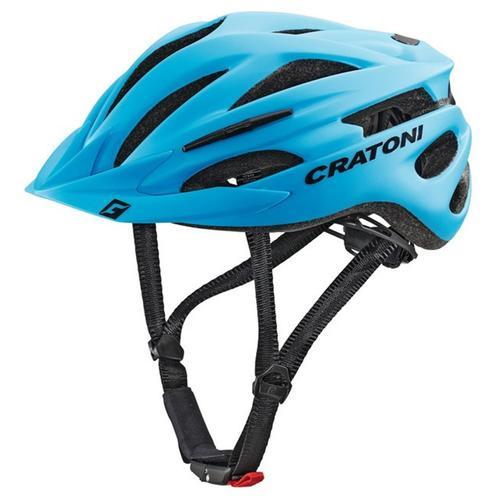 Cratoni Mountainbikehelm MTB-Fahrradhelm Pacer blau Rad-Ausrüstung Radsport Sportarten