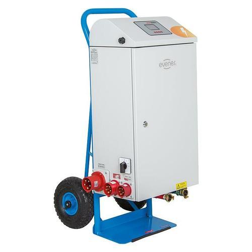 Elektrische Mobile Heizzentrale Elektroheizzentrale 21 bis 36 kW Notheizung Bauheizung 'Typ 21 kW'