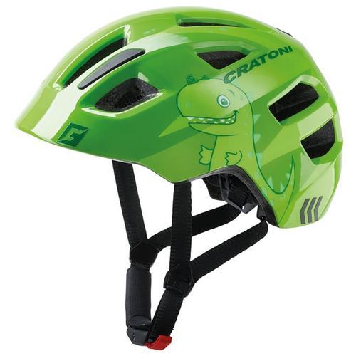 Cratoni Kinderfahrradhelm Fahrradhelm MAXSTER grün Rad-Ausrüstung Radsport Sportarten
