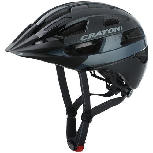 Cratoni Fahrradhelm City-Fahrradhelm Velo-X schwarz Rad-Ausrüstung Radsport Sportarten