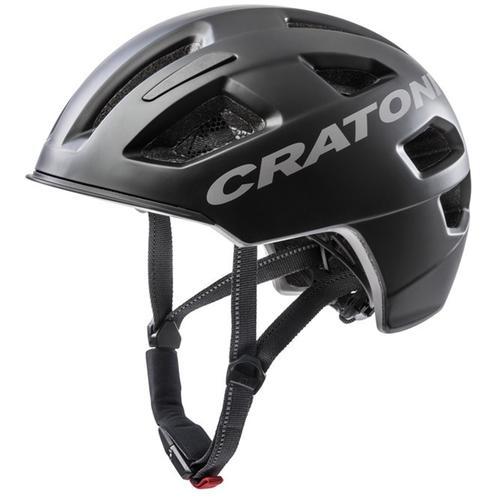 Cratoni Fahrradhelm City-Fahrradhelm C-Pure schwarz Rad-Ausrüstung Radsport Sportarten