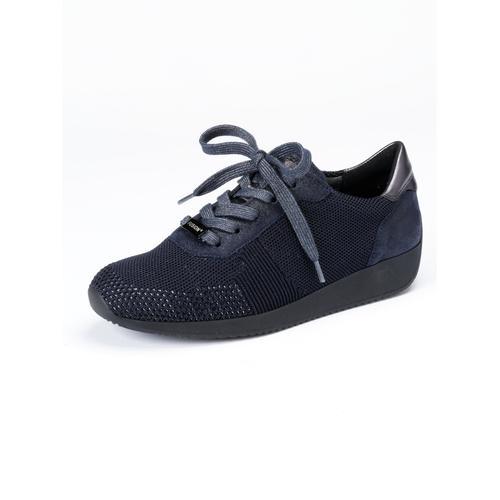 Avena Damen Sneakers Blau gemustert