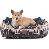 Pendleton Harding Kuddler Bolster Dog Bed w/Removable Cover, Medium