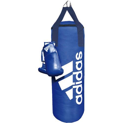 adidas Boxsack in blau-weiß, Größe Einheitsgröße