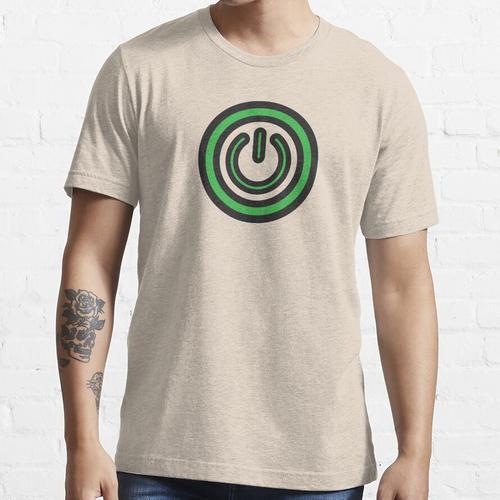 Einschalttaste Essential T-Shirt