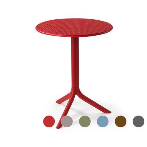 NARDI »Step« Garten-Tisch rot