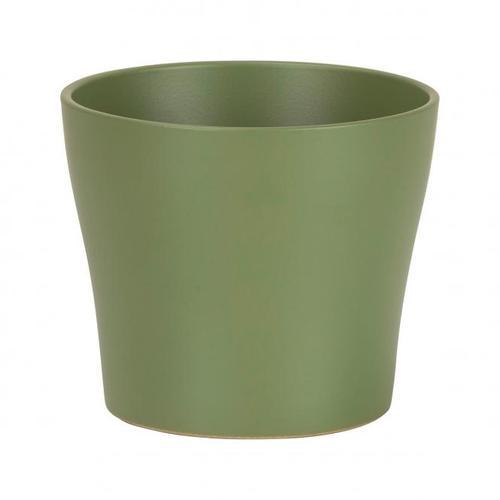 Übertopf Oliva, 19 cm, Grün