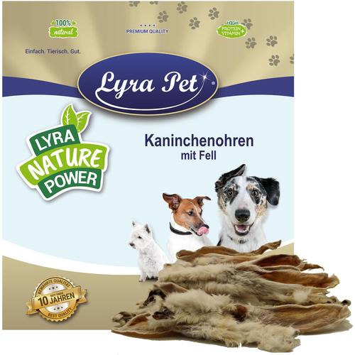 10 kg ® Kaninchenohren mit Fell - Lyra Pet
