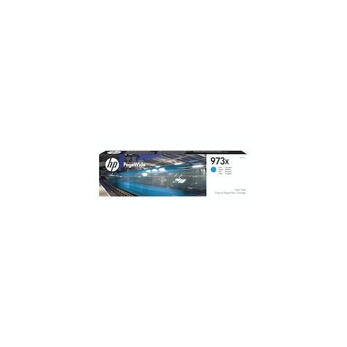 HP 973X Cyan Original Druckerpatrone mit hoher Reichweite bis zu 7.000 Seiten