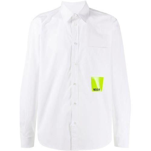 MSGM Hemd mit aufgesetzter Tasche