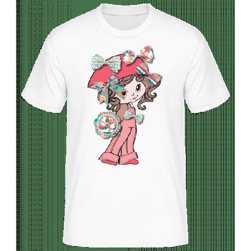 Schleifenmädchen - Basic T-Shirt