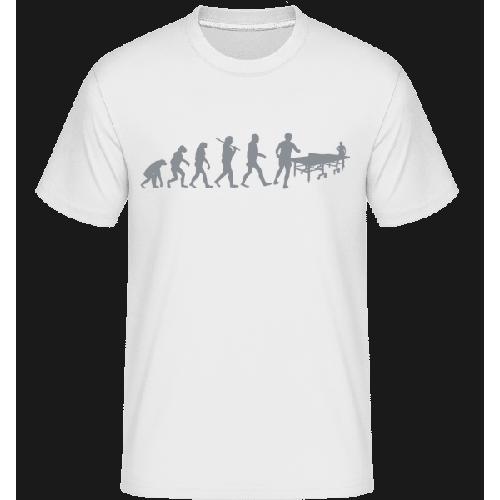 Evolution Des Tischtennis - Shirtinator Männer T-Shirt