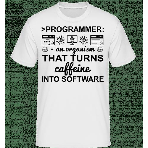 Caffeine Into Software - Shirtinator Männer T-Shirt