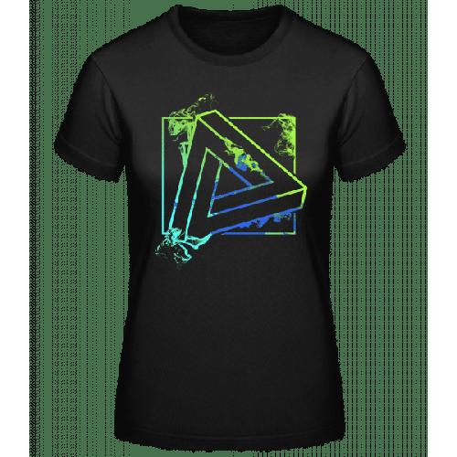 Unmögliches Dreieck - Basic T-Shirt