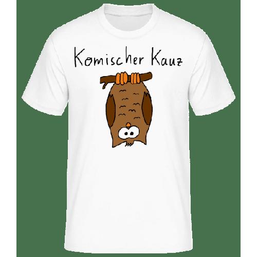 Komischer Kauz - Männer Basic T-Shirt