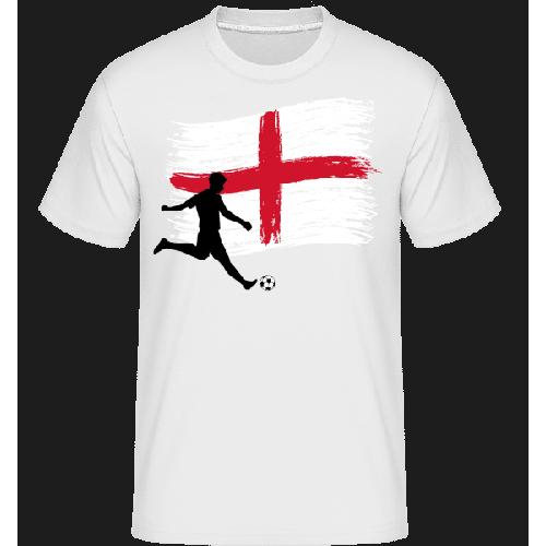 Englische Fahne Fußballer - Shirtinator Männer T-Shirt