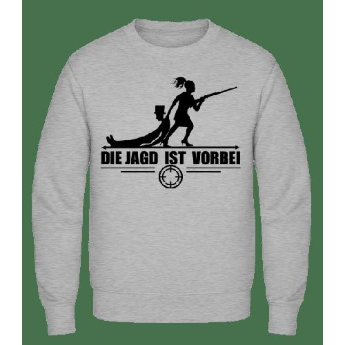 Die Jagd Ist Vorbei - Männer Pullover