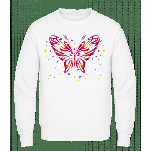 Schmetterling Rot - Männer Pullover