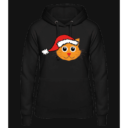 Katze Weihnachten - Frauen Hoodie