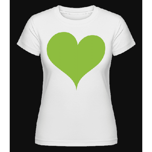 Stylisches Herz - Shirtinator Frauen T-Shirt