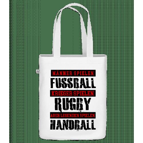 Legenden Spielen Handball - Bio Tasche