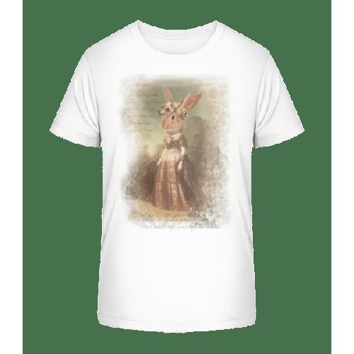 Gemälde Häschen - Kinder Premium Bio T-Shirt