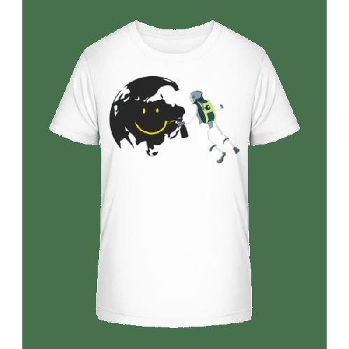 Lächelnder Mond - Kinder Premium Bio T-Shirt