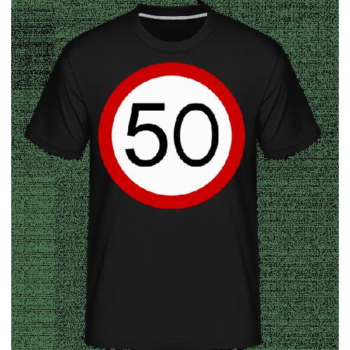 Verkehrsschild 50 - Shirtinator Männer T-Shirt