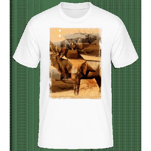 Hirsch Kreativ - Basic T-Shirt