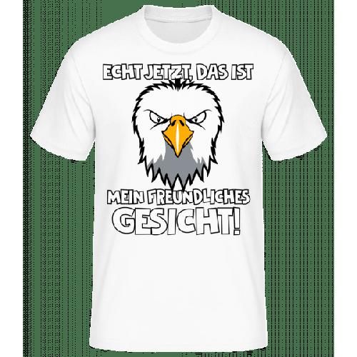 Mein Freundliches Gesicht - Männer Basic T-Shirt