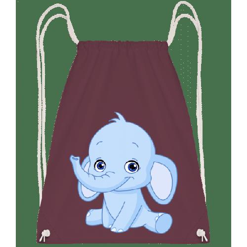 Elefant Comic - Turnbeutel