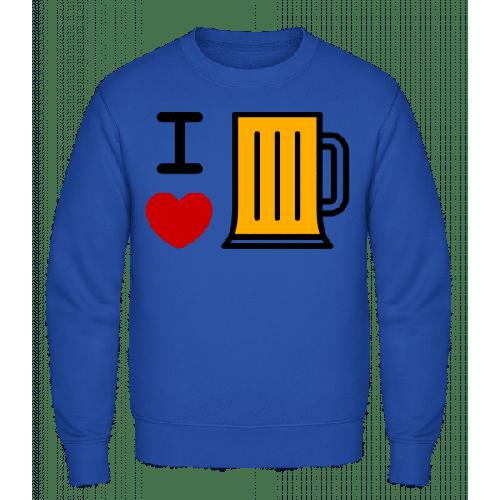 Ich Liebe Bier - Männer Pullover