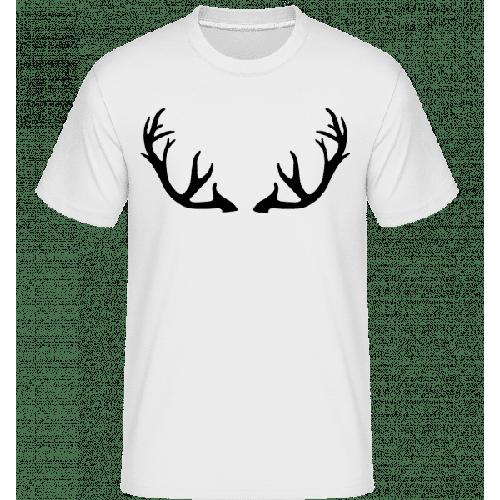 Hirschgeweih - Shirtinator Männer T-Shirt