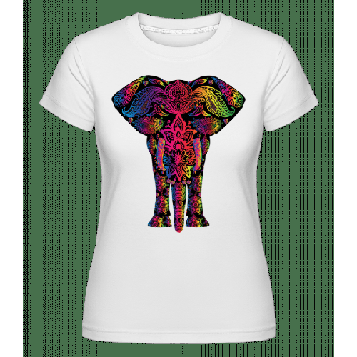 Bunter Elefant - Shirtinator Frauen T-Shirt