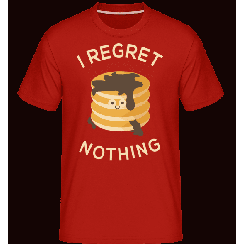 I Regreet Nothing Pancake - Shirtinator Männer T-Shirt