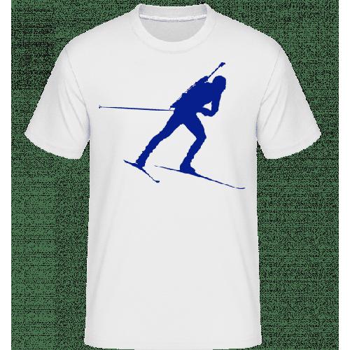 Biathlon Blue - Shirtinator Männer T-Shirt