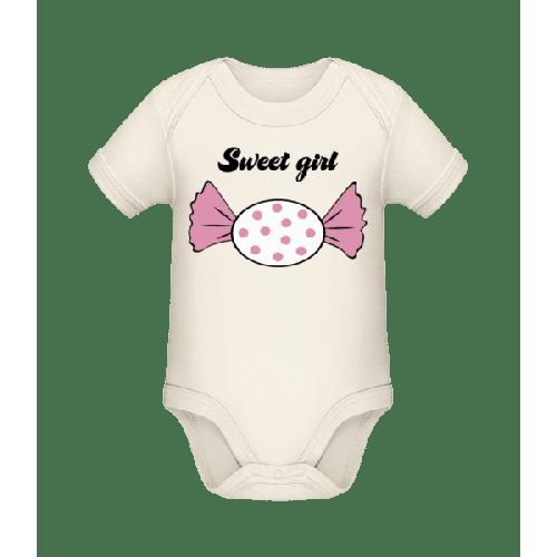 Sweet Girl - Bonbon - Baby Bio Strampler