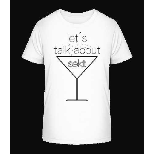 Let´s Talk About Sekt - Kinder Premium Bio T-Shirt