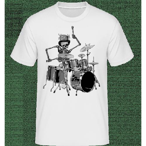 Schlagzeug Skelett - Shirtinator Männer T-Shirt