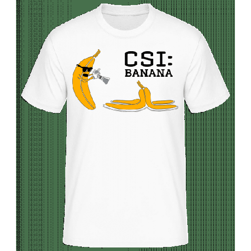 CSI Banana - Männer Basic T-Shirt
