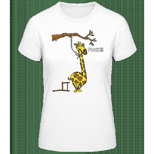 Selbstmordgefährdete Giraffe - Frauen Basic T-Shirt