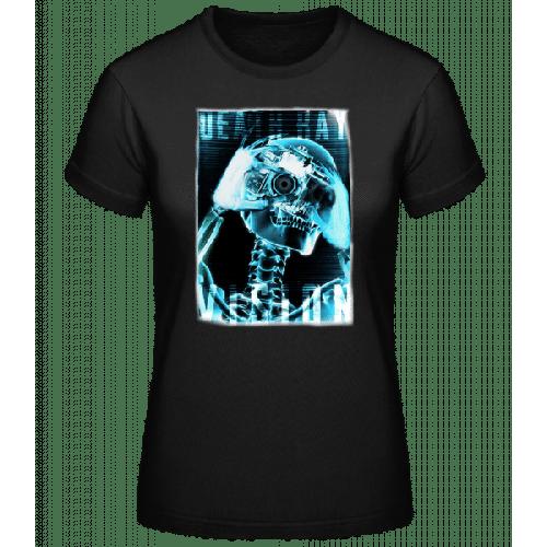 Röntgen Skelett - Basic T-Shirt